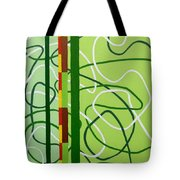 Peridot Party Tote Bag by Tara Hutton