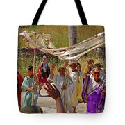 Period Performers At Ephesis Turkey Tote Bag