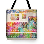 Periodic Table Of The Elements 10 Tote Bag