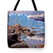 Perito Moreno 001 Tote Bag