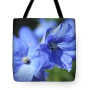 Periwinkle Flower Tote Bag