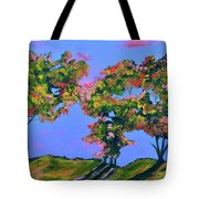 Periwinkle Twilight Tote Bag