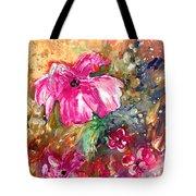 Perky Pink Tote Bag