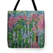 Perky Pink Phlox In A Dahlonega Garden Tote Bag