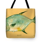 Permit Fish Tote Bag