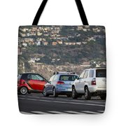 Perpendicular Parking Tote Bag
