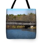 Perrine's Bridge In Spring #2 Tote Bag