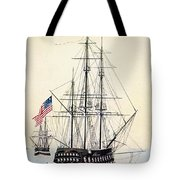 Perrys Expedition To Japan Tote Bag