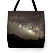 Perseids Milky Way Tote Bag by Scott Cordell