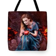 Persephone, Greek Mythological Goddess Tote Bag