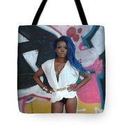 Persia Blue Tote Bag