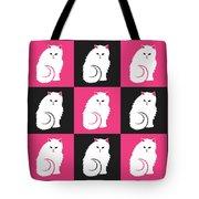 Persian Cat Pattern Tote Bag