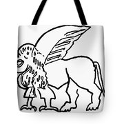 Persian Griffin Tote Bag