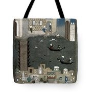 Persian Miniature, 1468 Tote Bag