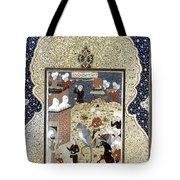 Persian Nobleman Tote Bag