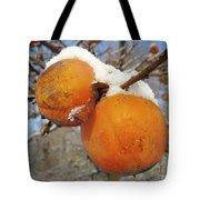 Persimmon Tree Tote Bag