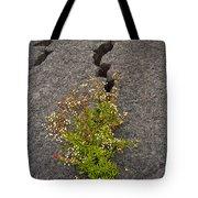 Persistent Flora Tote Bag