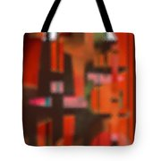 Persona - Obscured Idol Adherence 2015 Tote Bag by James Warren