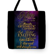 Personality Traits Of An Aries Tote Bag
