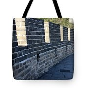 Perspective At The Great Wall Tote Bag