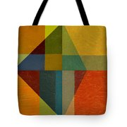 Perspective In Color Collage Tote Bag