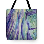 Perspective Tree Tote Bag