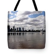 Perth City From South Perth Foreshore  Tote Bag