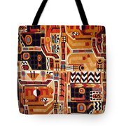 Peru: Tunic Fragment Tote Bag