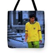 Peruvian Boy Tote Bag
