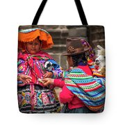 Peruvian Costume Tote Bag