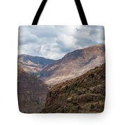 Peruvian Mountains From Pisac Site Tote Bag