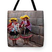 Peruvian Native Costumes  Tote Bag