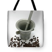 Pestle And Mortar  Tote Bag