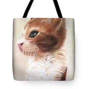 Pet Portrait Tote Bag