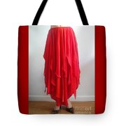 Petal Skirt - Ameynra Fashion 2016 Tote Bag