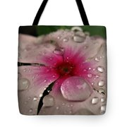 Petal Surfing Tote Bag