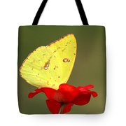 Petals And Wings Tote Bag