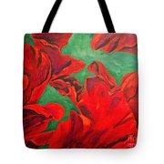 Petals Of Fire Tote Bag