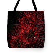 Petals Of Fireworks Tote Bag