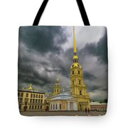Peter And Paul Fortress Tote Bag