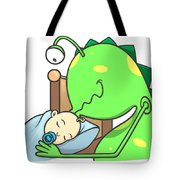 Peter And The Closet Monster, Kiss Tote Bag