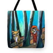 Peter And The Wolf Tote Bag