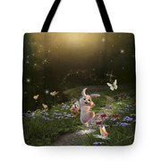 Peter Cottontail Tote Bag