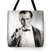 Peter Cushing As Sherlock Holmes Tote Bag