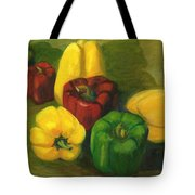 Peter Pifer Has A Lot Of Peppers To Choose From Tote Bag