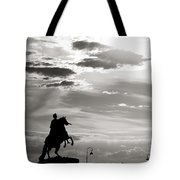 Peter The Great Tote Bag by Konstantin Dikovsky