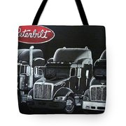 Peterbilt Trucks Tote Bag