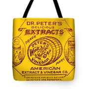 Peters For Good Eaters Tote Bag