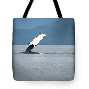 Petersburg Ak Whale Fin Tote Bag