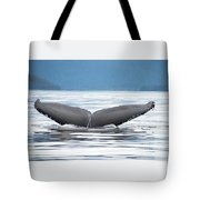 Petersburg Ak Whale Tale 2 Tote Bag